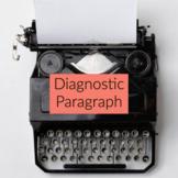 Opinion Paragraph Diagnostic Assessment Test