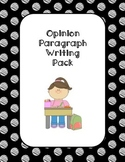 Opinion Paragraph Writing Pack