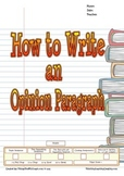 How to Write an Opinion Paragraph (Writer's Process)
