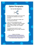 Opinion Paragraphs: Cut and Glue to Sequence the Paragraphs