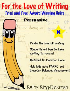 Opinion Persuasive Kindergarten