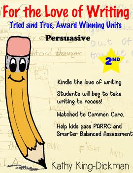 Opinion Persuasive 2nd Grade