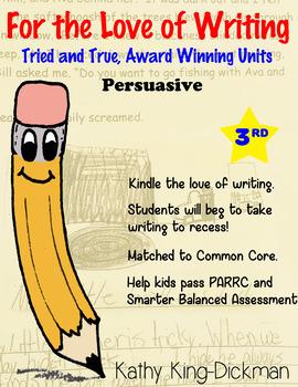Opinion Persuasive 3rd Grade