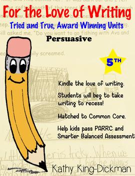Opinion Persuasive 5th Grade