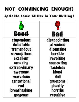 Opinion Persuasive Language Writing