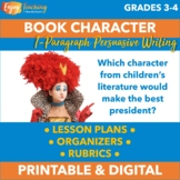 Persuasive Book Report - Character from Children's Literature for President