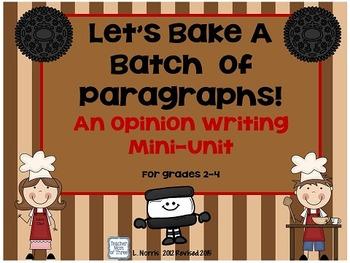 Opinion Writing O.R.E.O. Mini Unit