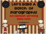 Opinion Writing O.R.E.O. Mini Unit