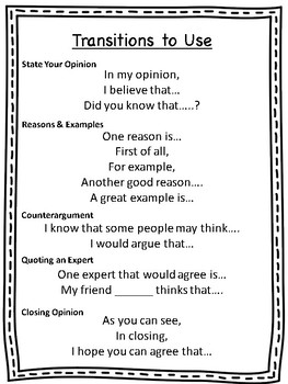 Opinion Persuasive Writing Paper and Templates- Primary and Intermediate!