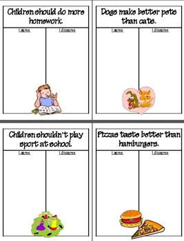 Opinion Persuasive Writing - SCOOT Lesson - Grade 2-6 (30 Worksheets!)
