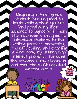 Opinion Persuasive Writing for grades K-3rd with graphic organizers