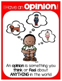 Opinion Writing Poster