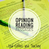 Opinion Reading Passages