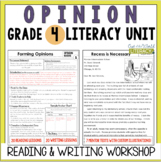 Opinion Writing and Reading Grade 4
