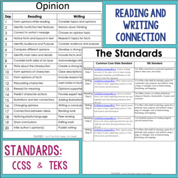 Opinion Writing and Reading Grade 5