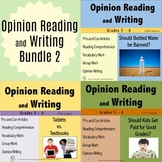Opinion Writing and Opinion Reading Bundle 2