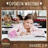 Opinion Writing - Writer's Workshop