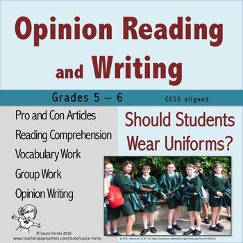 opinion essay on uniforms Split your payment apart - example argumentative essay school uniforms  school  an argument against school uniformsteen opinion essay when a.