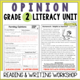 Opinion Writing and Reading Grade 2: 2nd Edition!