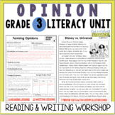 Opinion Writing and Reading Grade 3: 2nd Edition!