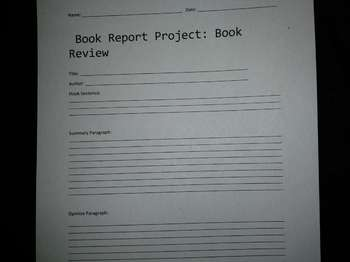 Opinion Real World Book Report: Book Review