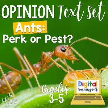 Opinion Text Set {Ants: Perk or Pest?}