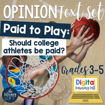 Opinion Text Set {College Athletes Debate}