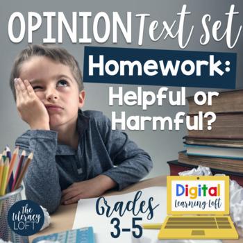 Opinion Text Set {Homework}