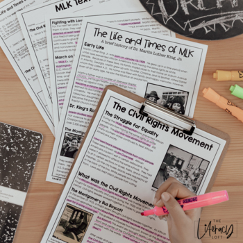 Opinion Text Set {MLK Day}