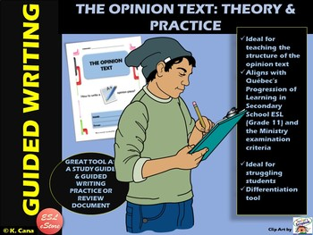 Opinion Text Writing Workbook: How to Write an A+ Opinion Text?