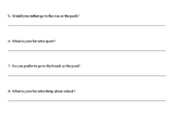 Opinion Topic Sentence Skill Builder