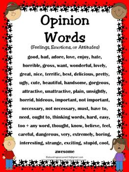 Opinion Words