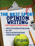The Best Sport-Opinion Writing Lesson