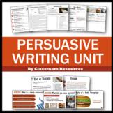 Persuasive Writing Unit Distance Learning Opinion Writing