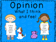 Opinion Writing for Beginners