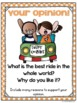 Opinion Writing Prompts with Opinion Writing Graphic Organizers
