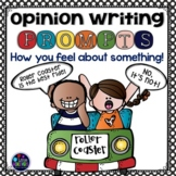 Opinion Writing Prompts 1st Grade-3rd Grade - Opinion Writing Graphic Organizers