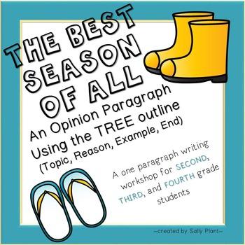 Seasons Opinion Paragraph Writing