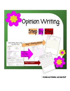Opinion Writing-  Step by Step