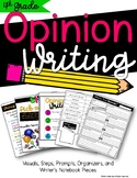 Opinion Writing {4th Grade}