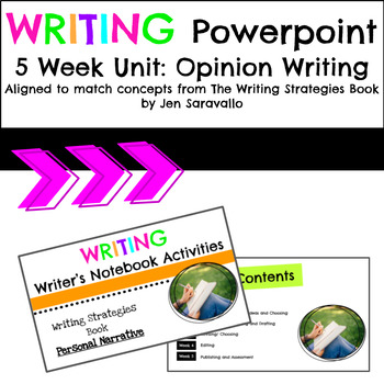 Opinion Writing 5 Week Unit