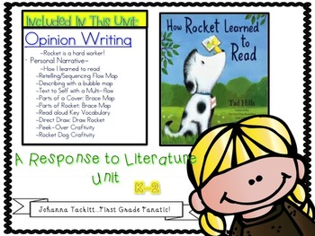 Opinion Writing: A Response To Literature Unit How Rocket
