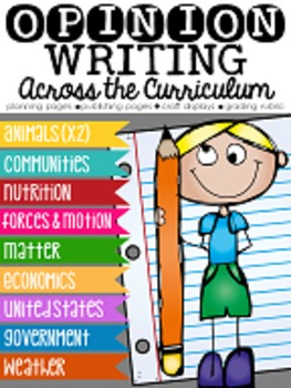Opinion Writing Across the Curriculum