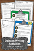 Opinion Writing Activities, OREO Method