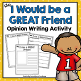 Opinion Writing Activity | 1st-3rd grade