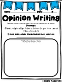 Opinion Writing: Adopting a pet prompt with reading passages