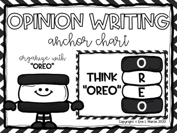 Opinion Writing Anchor Chart