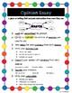 Opinion Writing Anchor Chart, Checklist, Interactive Notebook Mini-Chart