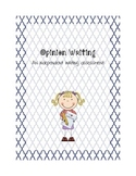 Opinion Writing Assessment