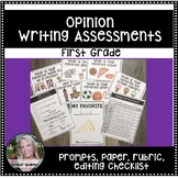 Opinion Writing Assessment and Rubric